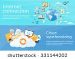 internet connection cloud... | Shutterstock .eps vector #331144202