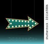 illustration of an arrow sign... | Shutterstock .eps vector #331165886