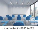 A Classroom Or Presentation...