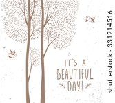 beautiful design stylish card... | Shutterstock .eps vector #331214516