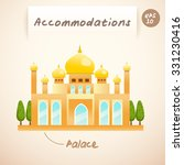 accommodations   palace  ... | Shutterstock .eps vector #331230416