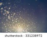 glitter vintage sparkle lights... | Shutterstock . vector #331238972