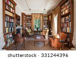 interiors  classical library... | Shutterstock . vector #331244396