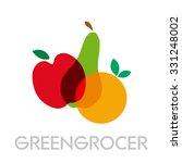 vector abstract greengrocer.... | Shutterstock .eps vector #331248002