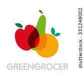 vector abstract greengrocer.... | Shutterstock .eps vector #331248002