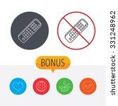 remote control icon. tv... | Shutterstock .eps vector #331248962