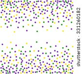 Mardi Gras Dot Background....