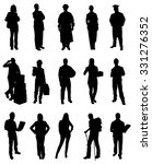 set of people various... | Shutterstock .eps vector #331276352