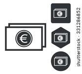 euro banknote set