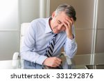 frustrated stressed business... | Shutterstock . vector #331292876