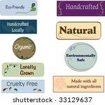 labels | Shutterstock .eps vector #33129637