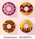 vector flat style icons set of...   Shutterstock .eps vector #331303076