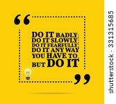 inspirational motivational... | Shutterstock .eps vector #331315685