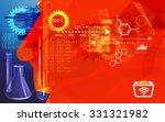 research methods abstract  ... | Shutterstock . vector #331321982