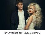 bride and groom wedding photo... | Shutterstock . vector #331335992