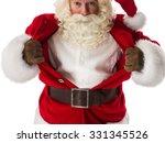 Santa Claus In A Classic...