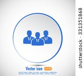 vector icon user group icon ... | Shutterstock .eps vector #331351868