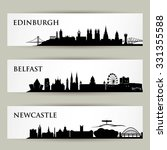 Great Britain Skylines   Vecto...