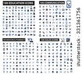 400 education  medicine ... | Shutterstock .eps vector #331361756