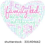 family bed word cloud on a... | Shutterstock .eps vector #331404662