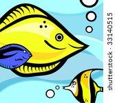 fish graphic vector | Shutterstock .eps vector #33140515