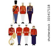 insignia and military uniforms...   Shutterstock .eps vector #331417118
