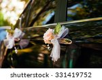 Wedding Car Decorated With...