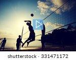 play start button multimedia...   Shutterstock . vector #331471172
