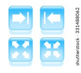 glassy view icons. vector...