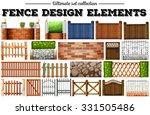 Many Fence Design Elements...