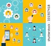 modern business concept  the...   Shutterstock .eps vector #331507418