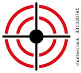 target vector icon. style is... | Shutterstock .eps vector #331520765