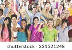 people diversity casual society ... | Shutterstock . vector #331521248
