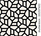 vector seamless black and white ...   Shutterstock .eps vector #331537652