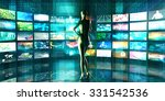 science and technology merging... | Shutterstock . vector #331542536