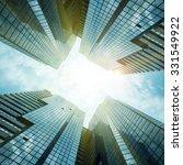 glass reflective office... | Shutterstock . vector #331549922