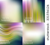 abstract colorful blurred... | Shutterstock .eps vector #331556126
