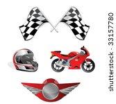 racing set | Shutterstock .eps vector #33157780