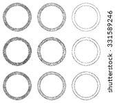 sketch ring design element set