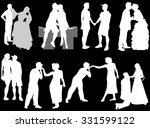 illustration with loving... | Shutterstock .eps vector #331599122