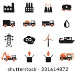industrial simply vector icon... | Shutterstock .eps vector #331614872