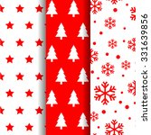 christmas winter seamless... | Shutterstock .eps vector #331639856