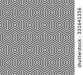 abstract pattern of hexagons....   Shutterstock .eps vector #331641356