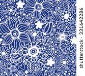floral seamless pattern... | Shutterstock .eps vector #331642286