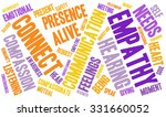 empathy word cloud on a white... | Shutterstock .eps vector #331660052