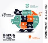 infographics vector business... | Shutterstock .eps vector #331661402