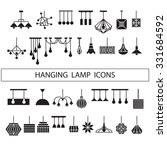 Hanging Lamp Vector  Chandelie...