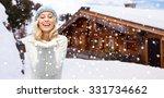 winter  advertisement  vacation ...   Shutterstock . vector #331734662