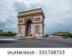 paris  france   july 21  arc de ... | Shutterstock . vector #331738715