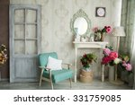 Vintage Country House Interior...